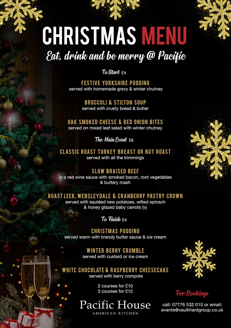 Christmas Menu.Pacific House Pacific Christmas Menu Website Pacific House